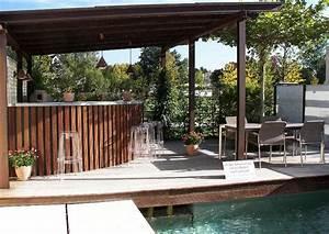 überdachte Terrasse Selber Bauen : idee gartenk che unterm terrassendach ~ Sanjose-hotels-ca.com Haus und Dekorationen
