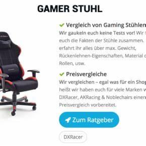 Günstige Gaming Stühle : der job blog ber karriere personal und arbeitsvermittlung ~ Markanthonyermac.com Haus und Dekorationen