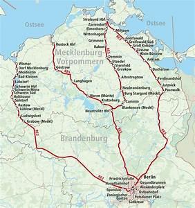 Berlin Hamburg Entfernung : fahren sie im nahverkehr der bahn von berlin an die ostsee ~ Watch28wear.com Haus und Dekorationen