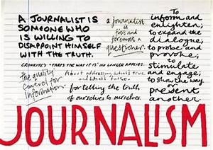 What is Journal... Journalism Definition
