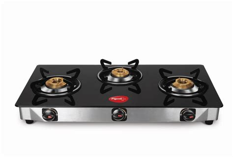 Pigeon Smart 3 Burner Glass Top Gas Stove Price In India 24 Gauge Stove Pipe Wood Burning With Pizza Oven Cheap Gas Tops Burner Grate Water Heat Exchanger For Stoves At Sears Top Cleaning Four