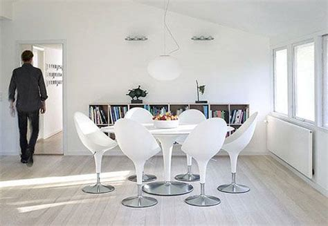 chaise blanche salle a manger white clean and interior design pictures freshome com