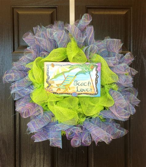 front door decorations for spring wreath spring wreath summer wreath spring break beach