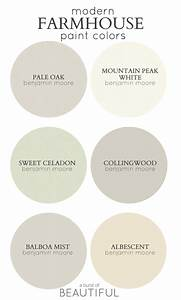 Modern farmhouse neutral paint colors a burst of beautiful for Kitchen cabinet trends 2018 combined with city map wall art