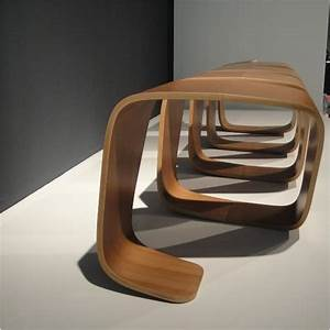Banc Exterieur Design : banc volutif ultra design 3 places ~ Teatrodelosmanantiales.com Idées de Décoration