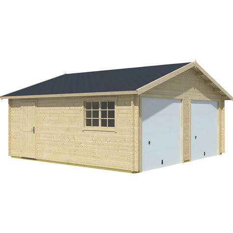 Le Garage Leroy Merlin by Garage En Bois Ba 239 Kal So Garden 28 38 M 178 Leroy Merlin