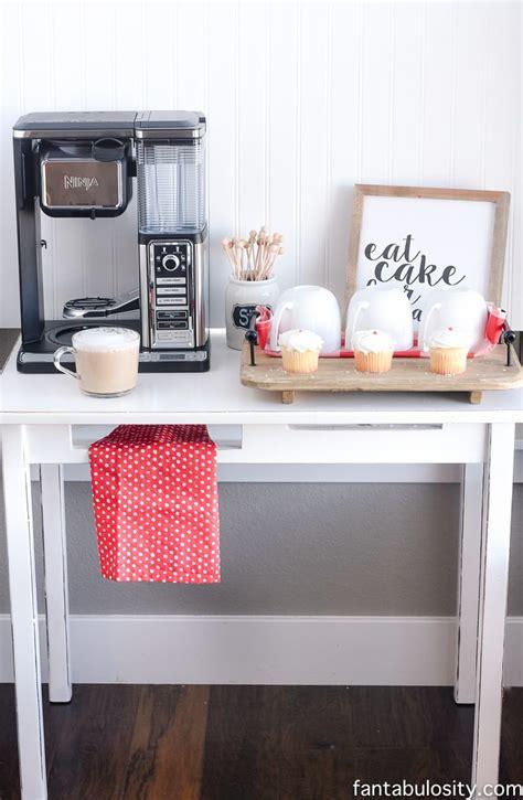 How to build a custom coffee bar how tos diy. DIY Coffee Bar Ideas for the Kitchen & Entertaining - Fantabulosity