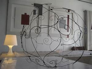 Fil De Fer Recuit : photos des cr ations travail du fil de fer jardin blanc ~ Dailycaller-alerts.com Idées de Décoration