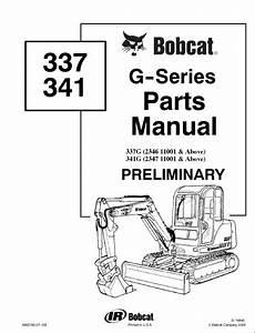 Bobcat 337  U0026 341 G