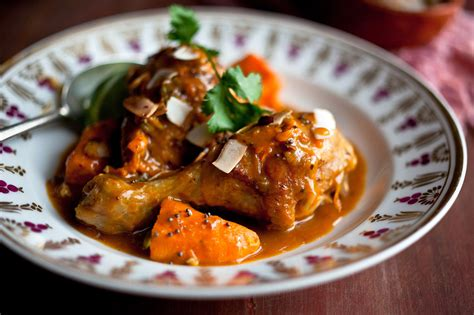 chicken curry  sweet potatoes  coconut milk recipe