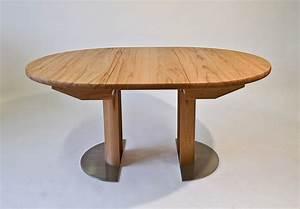 Tisch Rund 80 Cm Ausziehbar : e tisch solo rund ausziehbar casa innatura ~ Frokenaadalensverden.com Haus und Dekorationen