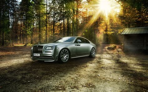 Spofec Rolls Royce Wraith 2014 Wallpaper