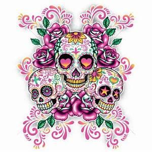 Wild Side Heat Transfers | Latin | Sugar Skulls ...