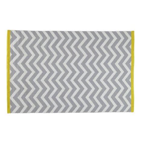 tapis 224 poils courts en coton gris 140 x 200 cm wave