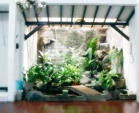 desain taman minimalis  rumah  artistik