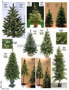 plastic decorative christmas tree different size - YYGIFTS