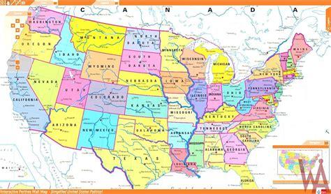 international border maps   usa whatsanswer