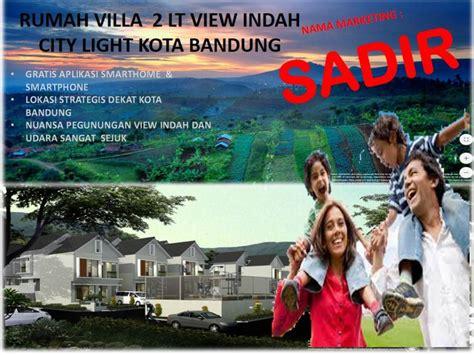 villa dijual rumah villa desain canggih  wisata