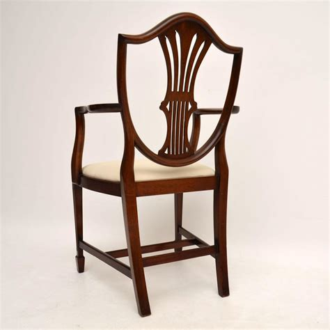 set_8_antique_mahogany_shield_back_dining_chairs_25 ...