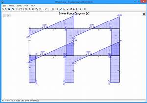 Step 11  View N  V  M Diagrams  Model Deformation And Free