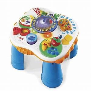 Table Eveil Bebe : tables rires eveil de fisher price vendu photo de k pu riculture et jouets babybasket ~ Teatrodelosmanantiales.com Idées de Décoration
