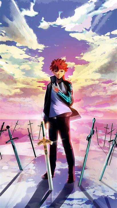 Fate Unlimited Blade Works Stay Night Anime