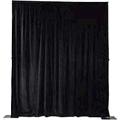 Where To Buy Pipe And Drape - 8 foot black pipe and drape rentals colonial heights