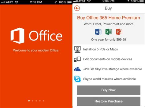 Office 365 On Iphone by Microsoft Office For Iphone App Review Ndtv Gadgets360