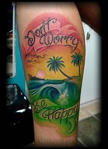 CRUCIAL TATTOO STUDIO - Maryland Custom Tattoos - Rasta beach
