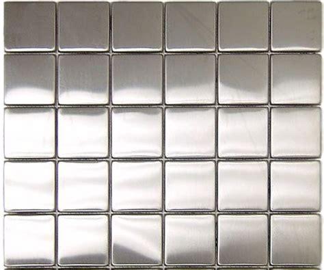 stainless steel tile 2 x 2 in stainless steel backsplash polished metal mosaic