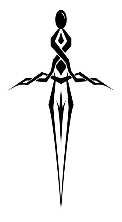 dagger tattoo | dagger tattoo- by cancel | Dagger tattoo