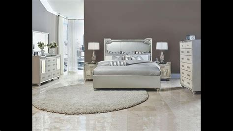 bel air park glam bedroom set  michael amini jane
