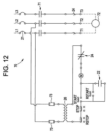 combination motor starter wiring diagram wiring diagram
