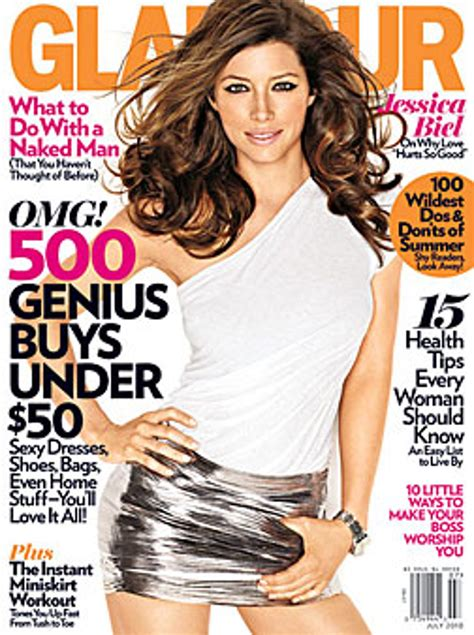 Jessica Biel Cover Shoot Photo Gallery Glamour