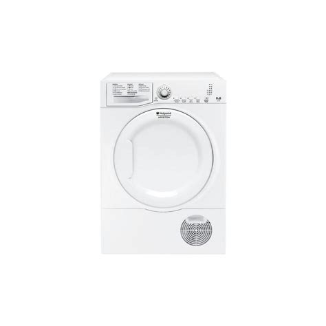 seche linge front hotpoint 8 kg condensation b ged