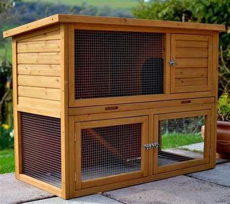 cottage rabbit hutch the cottage 4ft rabbit hutch outdoor rabbit hutches