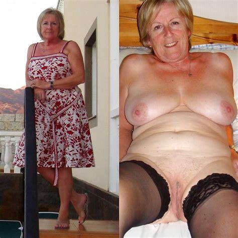 Dressed Undressed Grannies 30 Pics