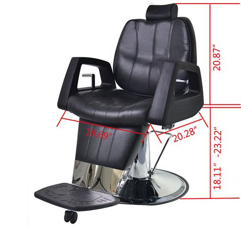 barberpub purpose hydraulic recline barber chair salon