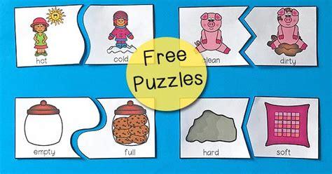 opposites puzzles for preschool totschooling toddler 537 | Opposites Puzzles Preschool