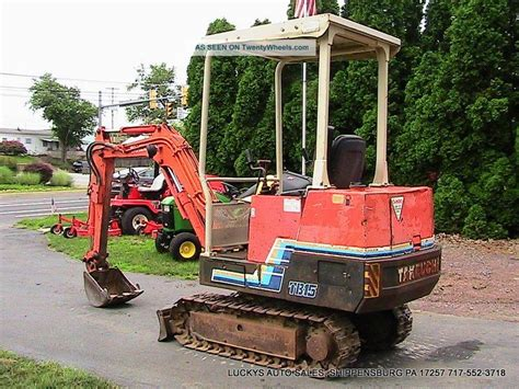 takeuchi tb mini excavator yanmar diesel