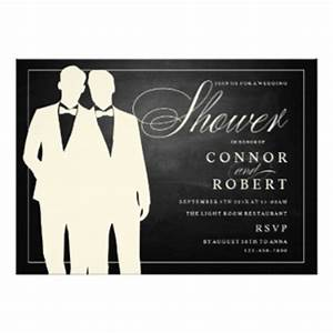 gay wedding shower invitations announcements zazzle With gay wedding shower invitations