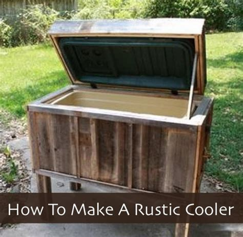 how to make a rustic cooler homestead survival