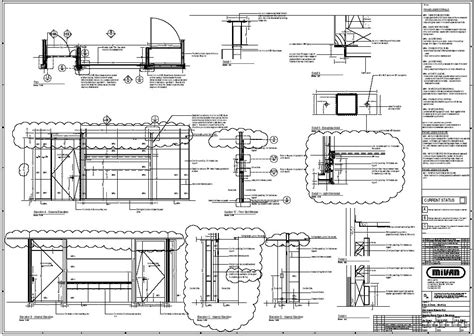 furniture construction drawing construction drawings