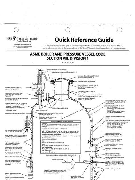 asme section 8 div 1 reference guide asme section viii div 1
