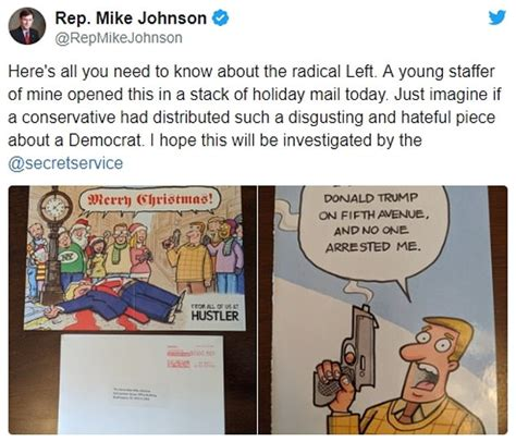 Maybe you would like to learn more about one of these? Hustler Magazine sends cartoon Christmas card depicting President Trump's assassination   Daily ...