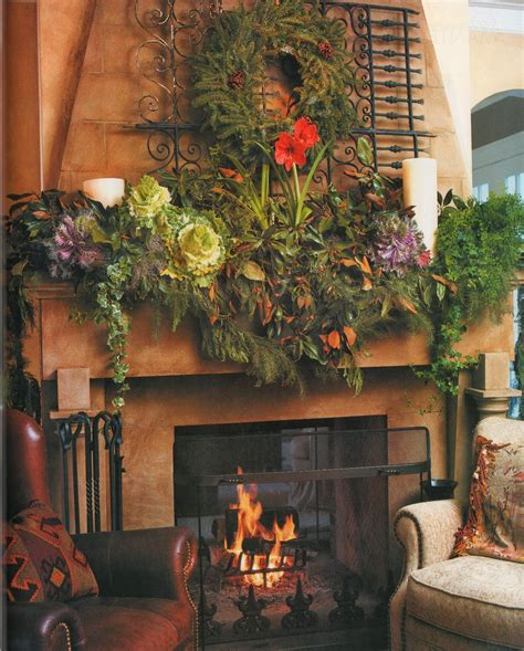 christmas mantel images shabby in love inspiring christmas fireplace mantel