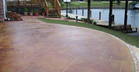 enchanting patio concrete design concrete patio