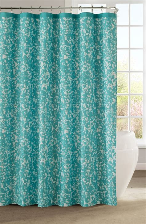 turquoise shower curtain aqua kensie susie shower curtain everything turquoise