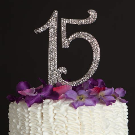 quinceanera cake toppers 15 cake topper 15th birthday quinceañera party decoration