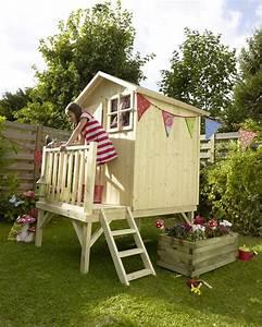 maisonnette blooma alisma castorama projet cabane dans With cabane dans le jardin